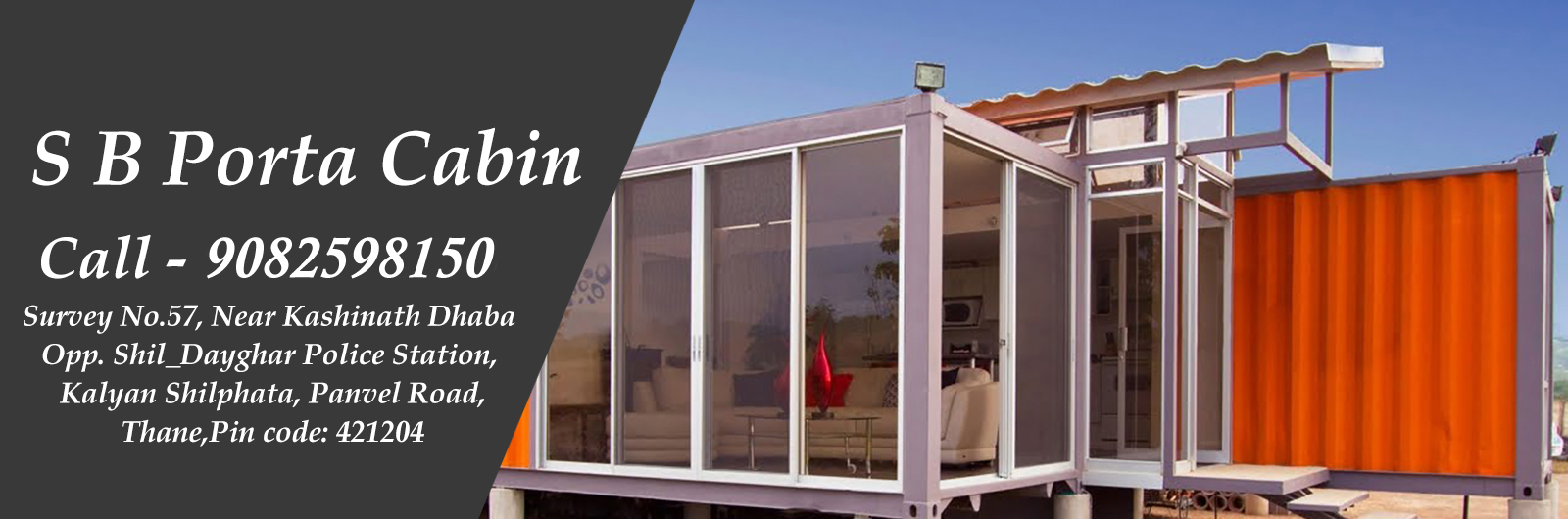 Portable Cabin Manufacturer in India